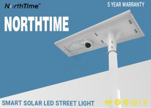 China Governmental Project LED Solar Street Lights 30Watt All In One Solar Panel with Lithium Battery on sale