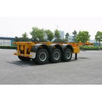 ISO Skeletal or Flatbed type Tank Container Trailer Chassis 40ft / Semi-Trailer