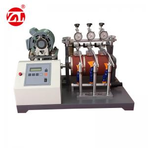 China ASTM-D1630 NBS Shoe Sole Abrasion Resistance leather testing machine on sale