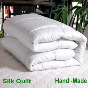 China 100%の絹のキルト/羽毛布団、クイーン サイズ2000g私達はまた単一/倍王のサイズを提供します! on sale
