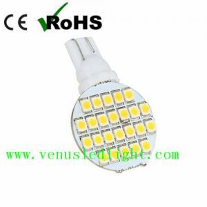China 12x T10 921 194 24-3528 SMD LED Bulb lamp Super Bright Cool White AC/DC 12V -28V on sale