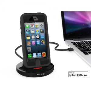 China Rugged Case Compatible Sync & Charge Dock for iPhone 5 / iPhone 5s / iPhone 5c on sale
