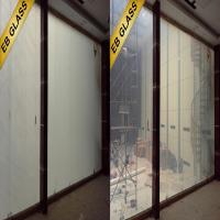 on/transparent off/opaque privacy smart glass ,intelligent glass EB GLASS