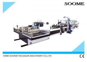 China Cardboard Partition Assembly 3.7kw Automatic Corrugation Machine on sale
