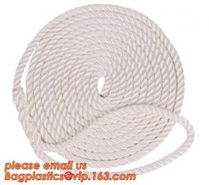 China cheap and quality 3 inch polypropylene marine rope, polypropylene rope, PET+PP rope on sale