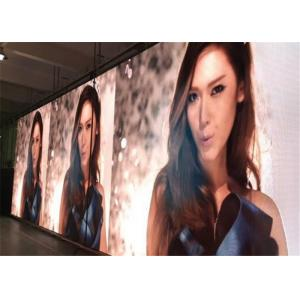 China Music Events Aluminum Indoor LED Video Wall Hire 3.91mm Pixel With Unique Design on sale
