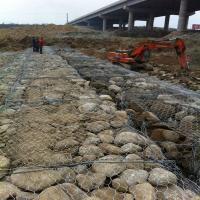 Wholesale easy to install gabion basket with high resistance to natural forces