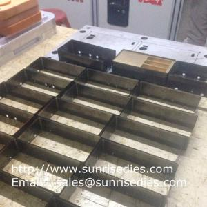 China High rule steel cutting dies making China factory, customized high knife steel dies on sale
