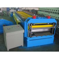 Automatic Metal Glazed Roof Tile Roll Forming Machine Siemens PLC Control for Mexico Market