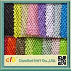 China Honeycomb Foam poly mesh fabric for Car Seat Cover and Chairs on sale