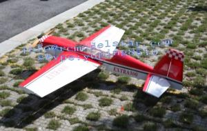 China Extra300 Model 30cc RC Airplane , Outdoor Flying RC Model Glider on sale