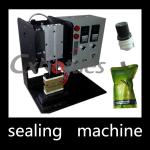 Durable Stand Up Pouch Sealing Machine / Plastic Spout Sealing Machine 4.9*0.6mm Inner Size