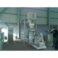 600kg/h double screw extruder Vietnam fish feed machine price