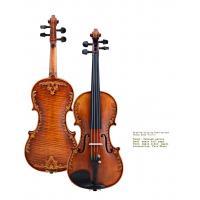 V07-carved Violin 4/4 Advanced Italy handmade violin Antique Spruce wood Violino Musical Instrument,violin case,rosin