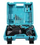 12 Volt Power Tools Cordless Drill Tool Set 16 Piece Accesseries Fast Charger