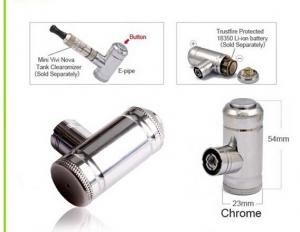 China Mini Mechanical E Pipie Mod Electronic Cigarette Changeable 3.7v - 4.2v With No Leakage on sale