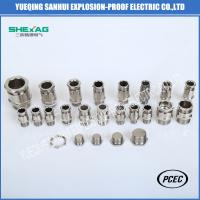 BDM-10 single sealed Explosion Proof  Weatherproof  Cable Glands for non-armoured Cable