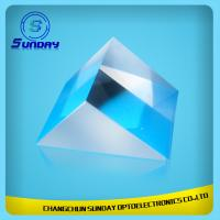 China Right Angle Prism VU Fused Silica Glass 2mm 5mm 8mm 10mm 12.7mm 15mm 20mm 25.4mm 30.8mm on sale