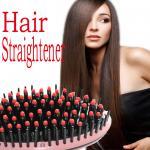 cheveux libres d'expédition de redresseur chaud des cheveux 2016 redressant la brosse plate molle de fer de soin avec différentes couleurs