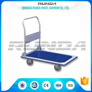 China Transportation Hand Truck Dolly Foldable , Platform Hand Truck Roll Container SGS on sale
