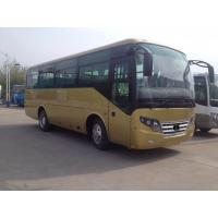 China Big Passenger Coach Bus Durable Red Star Travel Buses With 33 Seats Capacity on sale
