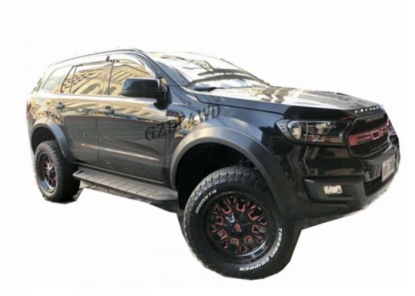 Oem 2016 2019 Ford Everest Slim Wheel Arch Flare Smooth Black Of Wheel Arch Flares