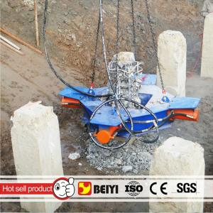 China Beiyi BYP500S Construction piling machine hydraulic round pile breaker concrete core cutting machine on sale