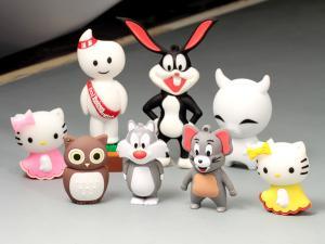 China Customized Shape 3D Animal Cartoon PVC USB flash Drive 4Gb 8Gb 16Gb on sale
