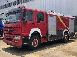 China 10t 12t Sinotruk Howo Heavy Rescue Truck Dry Powder And Foam Combined Use on sale