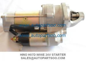 China Brand New HINO Starter Motor For Hino FD FC HO7D WO6E 24V on sale
