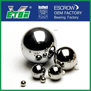 China Chrome Steel Balls Wear Resistance , Small Round Metal Balls Abrasion Resistance on sale