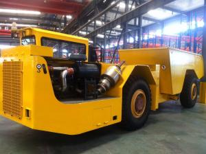 China Underground Mining Machine , Underground Dump Truck with 20t Capacity for Mining Tunneling on sale