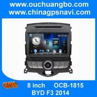 Ouchuangbo radio DVD gps navi stereo for BYD F3 2014 support iPod USB SD MP4 BT Russian