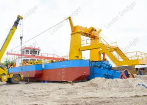 China Highly Automated Channel Dredging Equipment Dual Pump Cutter Suction Dredger 12,000 Cubic Meters Per Hour on sale