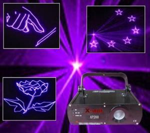 China  AP200 Club  purple mood animation disco laser lighting on sale