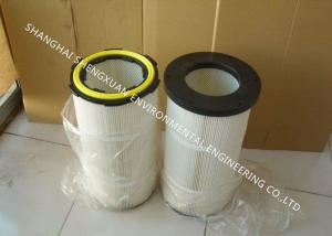 China Pleated Air Filter Cartridge Chemicals Resistance For Casting And Blasting Dust Removal on sale