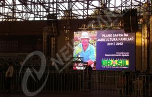 China P7.62mm Indoor LED Video Wall SMD 3 in 1 Rental led display 17222 dots/㎡ on sale