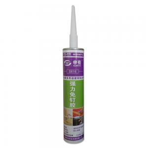 China Non Toxic Liquid Nails Construction Adhesive , Silicone Sealant Home Depot on sale