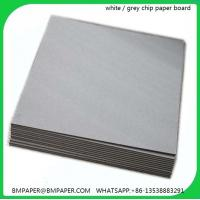 China woodfree uncoated paper A4 paper raw material cardboard grey