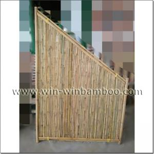 China garden bamboo screen & bamboo grating on sale