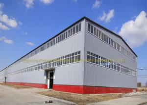 China Anti Rust Warehouse Steel Structure Prefab Metal Buildings Hot Dip Galvanized on sale
