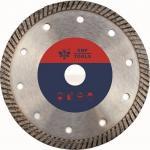 Narrow 9 Inch  Diamond Turbo Blade For Granite  Brick Asphalt Stone Long Life
