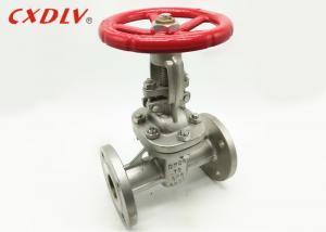 China Rising Stem Flanged Gate Valve For Pipe Fitting Gear Power Wedge on sale