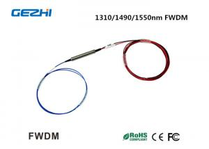 China 1310/1490/1550nm Filter Wavelength Division Multiplexer FWDM for WDM system / CATV on sale