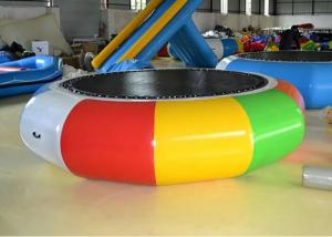China Cheap Water Trampoline Inflatable Water Games , Water Trampoline Manufacturer on sale