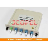 Cassette PLC Splitter 1x8  Module for Optical Distribution Box High reliablity