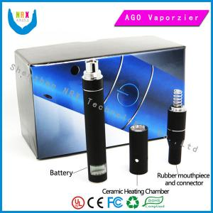 China Lcd 600 Puffs Ago Dry Herb Vaporizer 650mah  Healthy E Cigarettes supplier