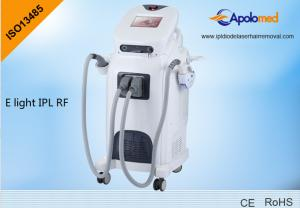 China 2 handpieces RF face lifting machine e-light ipl machine with 16 languages on sale