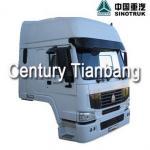 SINOTRUK HOWO Truck Cabin Parts AH164400101 White Cabin