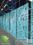 Folded 3D Perforation Aluminum panels for curtain wall cladding facade outdoor Sri lanka